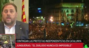 """Oriol Junqueras: """"Que los catalanes puedan votar es la mejor moción de censura al PP"""""""